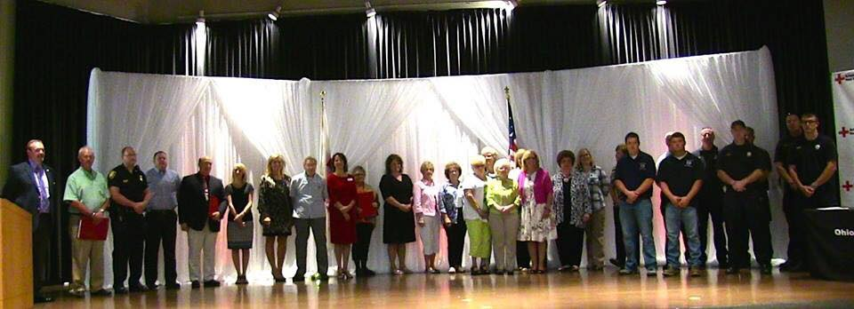 17th Annual Heroes Breakfast Group Photo