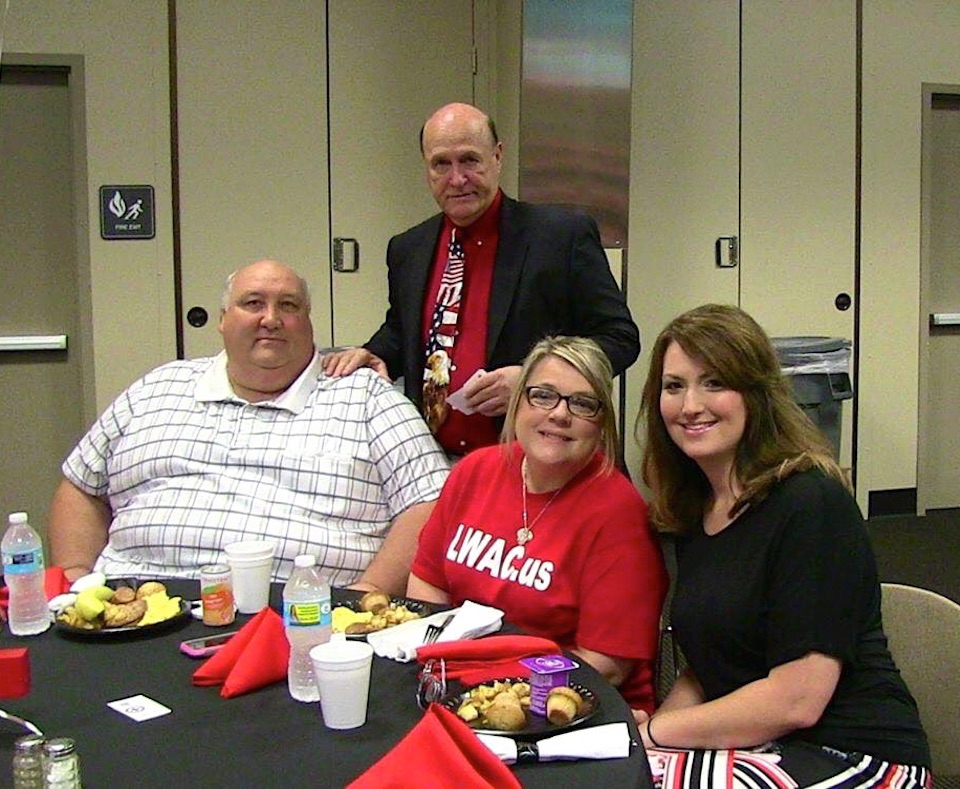 Mike Gifford, his brother Terry and his wife Sherry, alongside their daughter-in-law, Lisa Gifford.