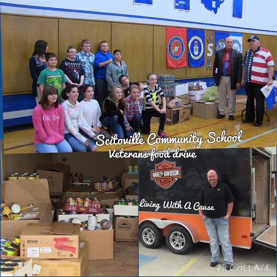 Scioto County Schools Veterans Food Drive